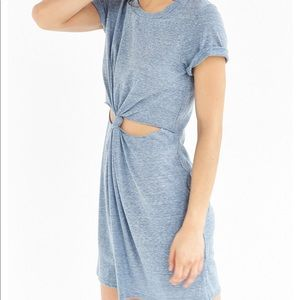 URBAN OUTFITTERS HONEY PUNCH KNOT-FROMT TEE DRESS